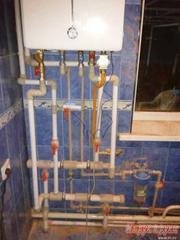 Отопление,  котлы отопительные(газ,  солярка)установка,  бойлеры