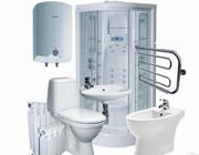 Сантехник:  установка  смесителей,   раковин,  ванн, унитазов, биде и т.д.
